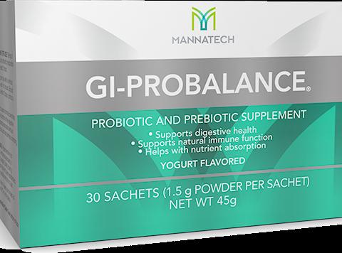 GI-ProBalance probiotic bacteria packshot